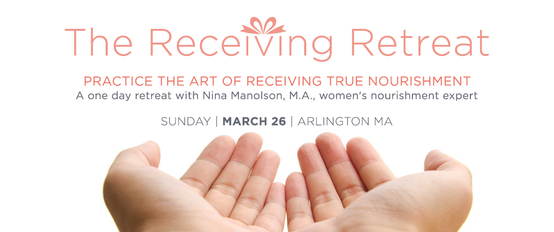 The Receiving Retreat with Nina Manolson