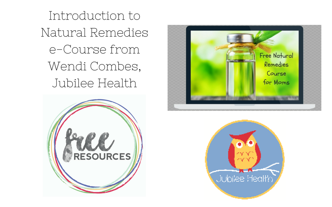 Wendi Combes: Introduction to Natural Remedies
