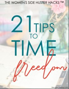 Gina - 21 Tips to Time Freedom